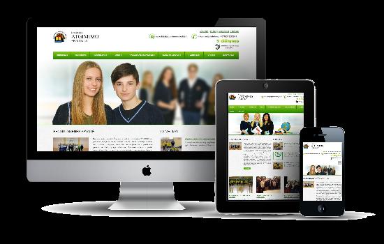 Atgimimo mokyklos internetinis tinklapis