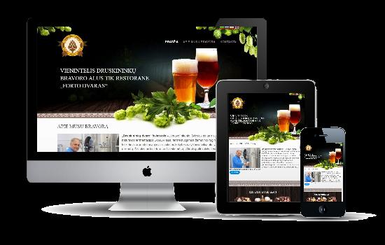 Druskininkų alaus bravoro internetinis tinklapis